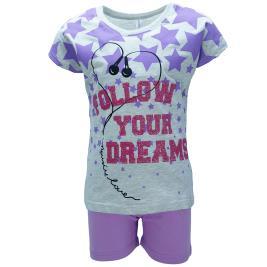 Παιδική Πυτζάμα Dreams 98608 Μελανζέ Κορίτσι