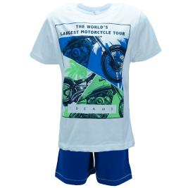 Παιδική Πυτζάμα Dreams 98509 Λευκό Αγορι