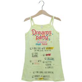 Παιδική Πυτζάμα Dreams 98612 Κίτρινο Κορίτσι