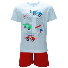 Παιδική Πυτζάμα Dreams 98310 Λευκό Αγόρι