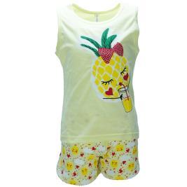 Παιδική Πυτζάμα Dreams 98412 Κίτρινο Κορίτσι