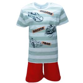 Παιδική Πυτζάμα Dreams 98304 Ριγέ Γκρι Αγόρι