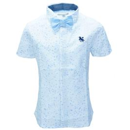 Παιδικό Πουκάμισο New College 29-603 Γαλάζιο-Λευκό Αγόρι