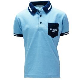 Παιδική Μπλούζα New College 29-934 Σιέλ Αγόρι
