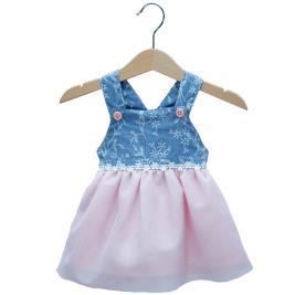 Βρεφικό Φόρεμα New College 29-8767 Denim Κορίτσι