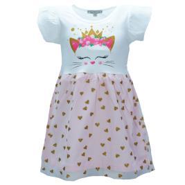 Παιδικό Φόρεμα New College 29-751 Λευκό Κορίτσι