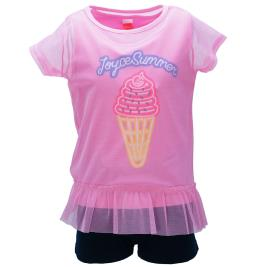 Παιδικό Σετ-Σύνολο Joyce 92362 Ροζ Κορίτσι