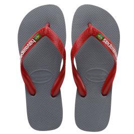 Ανδρική Σαγιονάρα Havaianas 4110850-8752 Γκρι Κόκκινο