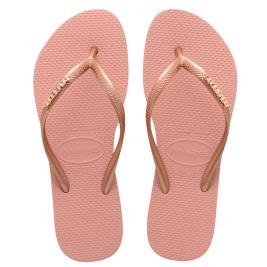Γυναικεία Σαγιονάρα Havaianas 4119875-3655 Nude Ροζ Χρυσό