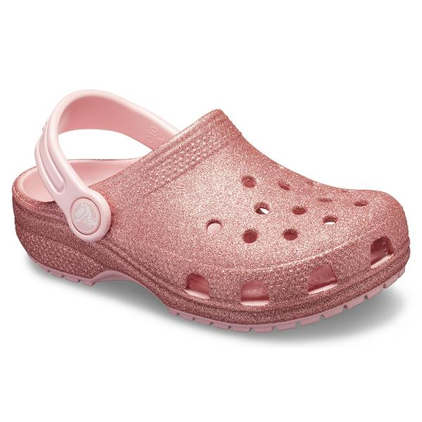 5fa38b3d692 Παιδικό Πέδιλο Crocs 205441-682 Ροζ Glitter