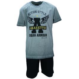 Παιδικό Σετ-Σύνολο Amaretto A1921 Ανθρακί Αγόρι