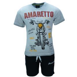 Παιδικό Σετ-Σύνολο Amaretto B1964 Μελανζέ Αγόρι