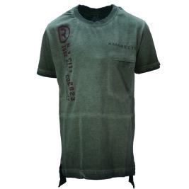 Παιδική Μπλούζα Amaretto A1911 Χακί Αγόρι
