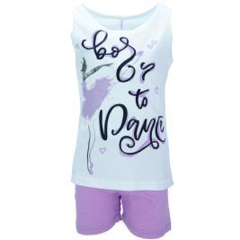 Παιδική Πυτζάμα Dreams 98609 Λευκό Κορίτσι