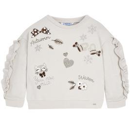 Παιδική Μπλούζα Mayoral 18-04448-014 Γκρι Κορίτσι