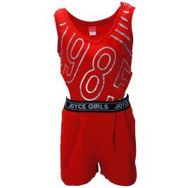 Παιδική Ολόσωμη Φόρμα Joyce 92903 Κόκκινο Κορίτσι
