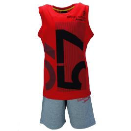 Παιδικό Σετ-Σύνολο Amaretto A1915 Κόκκινο Αγόρι