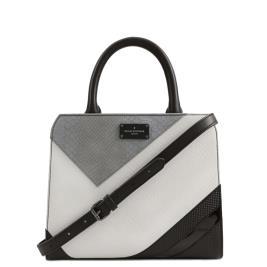 Γυναικεία Τσάντα Pauls Boutique Logan PBN127553 Μαύρο Γκρι Λευκό
