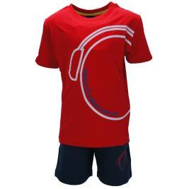 Παιδικό Σετ-Σύνολο Amaretto B1961 Κόκκινο Αγόρι