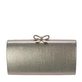 Γυναικείος Φάκελος Verde 01-0001217 Ροζ Χρυσό