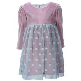 Παιδικό Φόρεμα Εβίτα 199244 Σομόν Κορίτσι