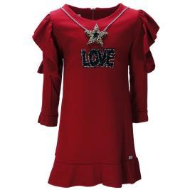 Παιδικό Φόρεμα Εβίτα 199003 Κόκκινο Κορίτσι