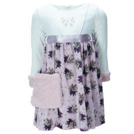 Παιδικό Φόρεμα Εβίτα 199225 Εκρού Κορίτσι