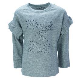 Παιδική Μπλούζα Εβίτα 199165 Μελανζέ Κορίτσι