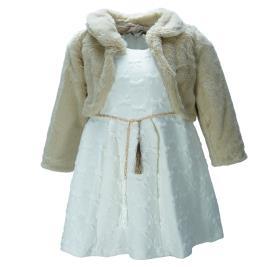 Παιδικό Φόρεμα Εβίτα 199245 Μπεζ Κορίτσι