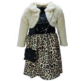 Παιδικό Φόρεμα Εβίτα 199007 Μπεζ Κορίτσι