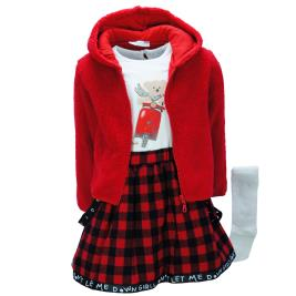 Παιδικό Σετ-Σύνολο Εβίτα 199221 Κόκκινο Κορίτσι