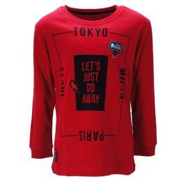 Παιδική Μπλούζα Hashtag 199790 Κόκκινο Αγόρι