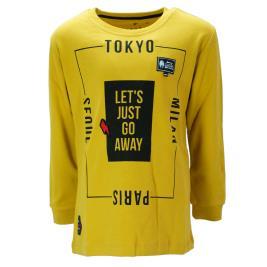 Παιδική Μπλούζα Hashtag 199790 Κίτρινο Αγόρι