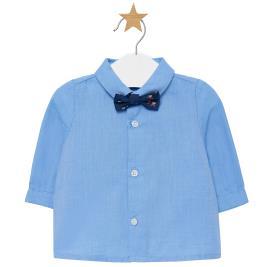 Βρεφικό Πουκάμισο Mayoral 19-02102-069 Γαλάζιο Αγόρι