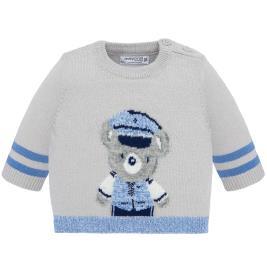 Βρεφική Μπλούζα Mayoral 19-02305-021 Γκρι Αγόρι