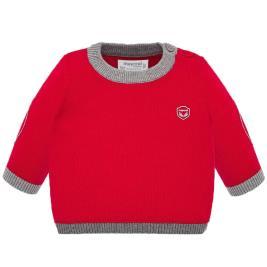 Βρεφική Μπλούζα Mayoral 19-02307-055 Κόκκινο Αγόρι