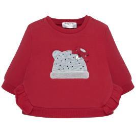 Βρεφική Μπλούζα Mayoral 19-02404-038 Κόκκινο Κορίτσι