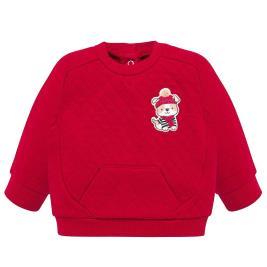 Βρεφική Μπλούζα Mayoral 19-02413-010 Κόκκινο Αγόρι