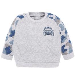 Βρεφική Μπλούζα Mayoral 19-02413-011 Γκρι Αγόρι