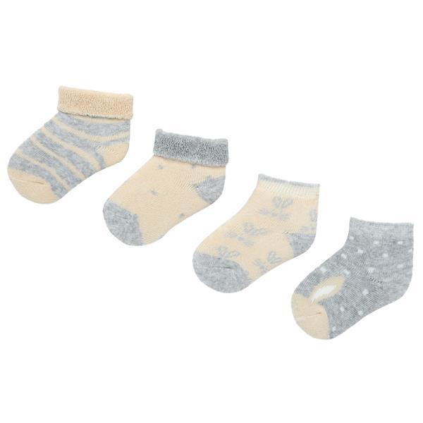 Βρεφικές Κάλτσες Σετ Mayoral 19-09157-054 Γρκι Αγόρι