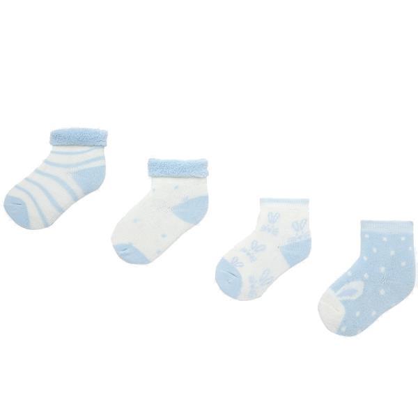Βρεφικές Κάλτσες Σετ Mayoral 19-09157-055 Σιέλ Αγόρι