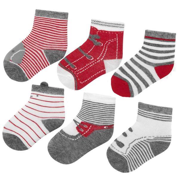 Βρεφικές Κάλτσες Σετ Mayoral 19-09169-080 Κόκκινο Αγόρι