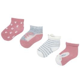 Βρεφικές Κάλτσες Σετ Mayoral 19-09171-045 Ροζ Κορίτσι