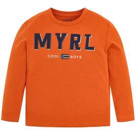 Παιδική Μπλούζα Mayoral 19-00173-071 Πορτοκαλί Αγόρι
