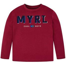 Παιδική Μπλούζα Mayoral 19-00173-072 Μπορντώ Αγόρι