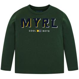 Παιδική Μπλούζα Mayoral 19-00173-074 Πράσινο Αγόρι