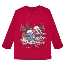 Βρεφική Μπλούζα Mayoral 19-02030-011 Κόκκινο Αγόρι