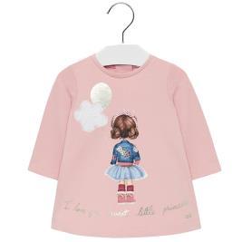 Βρεφικό Φόρεμα Mayoral 19-02920-016 Ροζ Κορίτσι