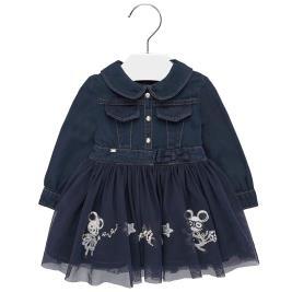 Βρεφικό Φόρεμα Mayoral 19-02925-007 Μπλε Κορίτσι