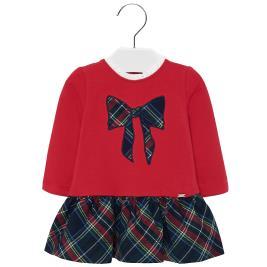 Βρεφικό Φόρεμα Mayoral 19-02927-074 Κόκκινο Κορίτσι